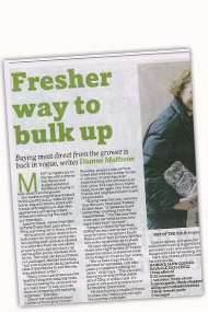The Advertiser 15th July 2013 Article
